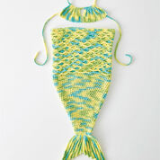 Lily Sugar'n Cream Tiny Mermaid Crochet Costume