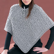 Bernat Perfect Patterned Poncho, XS-M