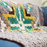 Bernat Geo Folk C2C Crochet Afghan in color  Thumbnail Main Image 4}