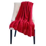Caron Rippling Waves Knit Afghan