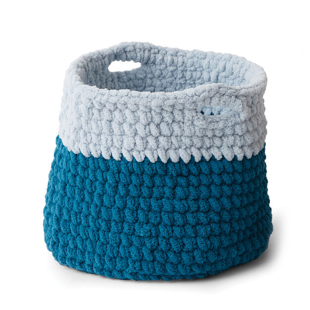 Bernat Crochet Basket in color