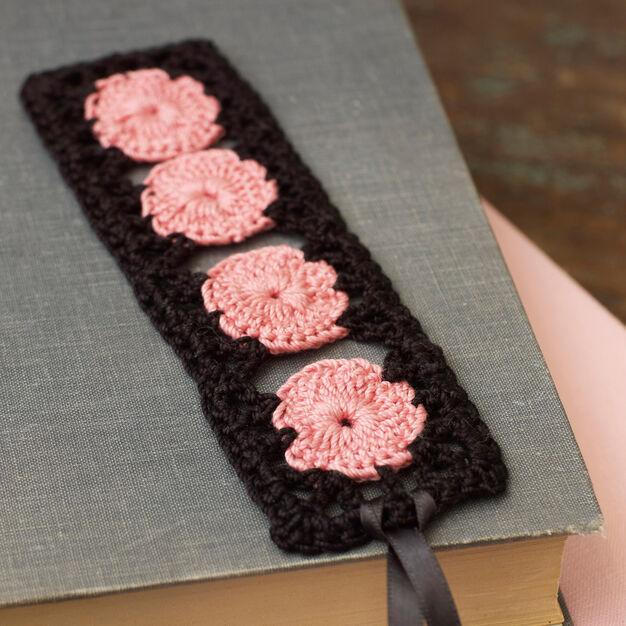 Aunt Lydia's Rose Keepsake Bookmark in color