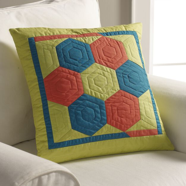 Coats & Clark Hex of a Pillow in color