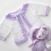 Go to Product: Bernat Baby Jacket and Blanket, Blanket in color