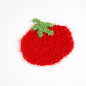 Red Heart Tomato Scrubby