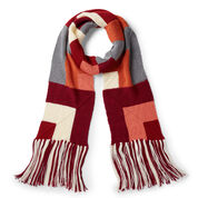 Go to Product: Caron Here and There Mitered Knit Scarf in color