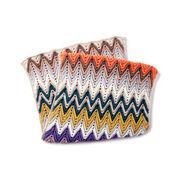 Caron x Pantone Crochet Zig-Zag Rectangular Shawl