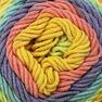 Caron Cotton Cakes Yarn, Gerber Daisy in color Gerber Daisy