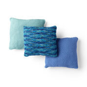 Go to Product: Red Heart Beach House Knit Pillows, Seafoam Pillow in color