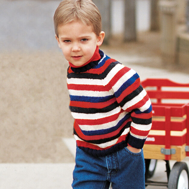 Patons Andrew's Stripes, 4 Years