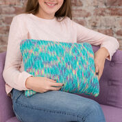 Go to Product: Red Heart Two-Way Garter Stitch Pillow in color