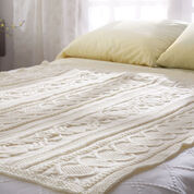 Go to Product: Bernat Gift of Love Cable Afghan in color