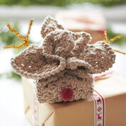Lily Sugar'n Cream Rudolph's Soap Cozy