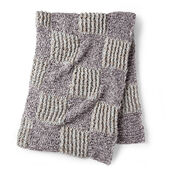 Go to Product: Bernat Twisted Grid Crochet Blanket in color