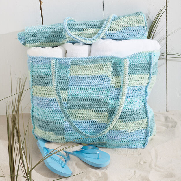 Bernat Beach Bag with Mat