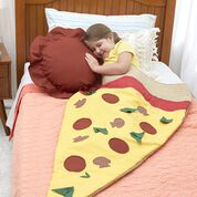 Dual Duty Pizza Slice Snug Sack