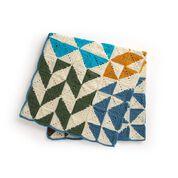 Go to Product: Red Heart Crochet Modern Patchwork Sampler Blanket in color