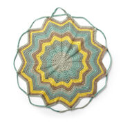 Bernat Convertible Crochet Blanket Bag