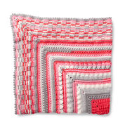 Go to Product: Bernat Study of Texture Afghan in color