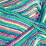 Bernat Handicrafter Cotton Ombres Yarn (340G/12 OZ), Psychedelic in color Psychedelic