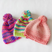 Go to Product: Red Heart Crochet Stripes Hat, S in color