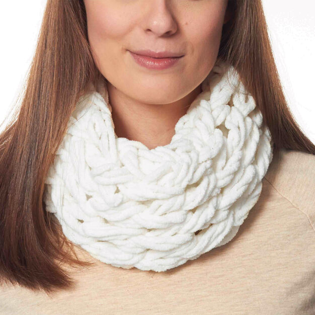 Bernat Arm Knit Cowl in color