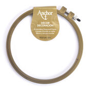Anchor Décor Embroidery Hoop & Frame, Decor Hoop 6-inch