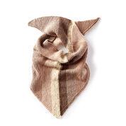 Caron Triangle Knit Shawl