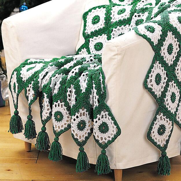 Bernat Crochet Afghan in color