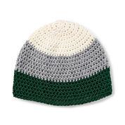 Bernat Bold Stripe Crochet Hat