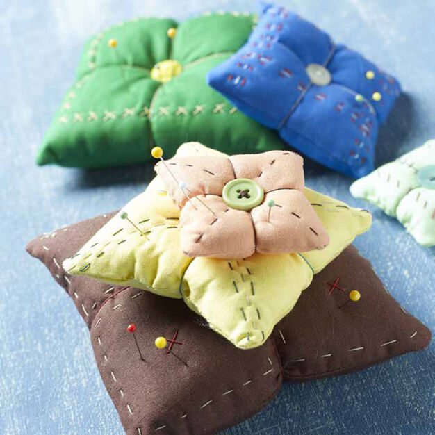 Coats & Clark Pin-teresting Pincushions in color