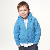 Bernat Kid's Jacket, Size 4