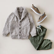 Go to Product: Bernat Shawl Collar Cardigan, 6 months in color