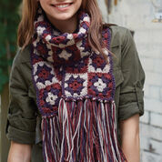 Patons Granny Square Scarf