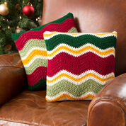 Go to Product: Red Heart Holiday Chevron Pillows in color