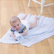 Red Heart Heavenly Baby Blanket