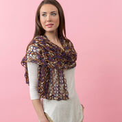 Red Heart Enjoy Life Shawl