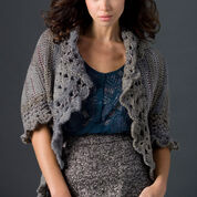 Red Heart Relaxed Cardi, S