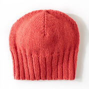 Go to Product: Patons Effortless Beanie, Pink in color