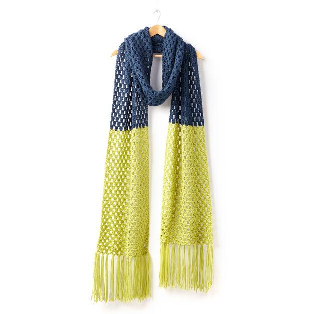 Caron Granny Takes A Dip Crochet Super Scarf Yarnspirations