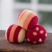 Go to Product: Aunt Lydia's Three Tangy Juggling Balls in color