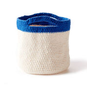 Lily Sugar'n Cream Crochet Handy Basket