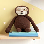 Lily Sugar'n Cream Knit Sloth Toy