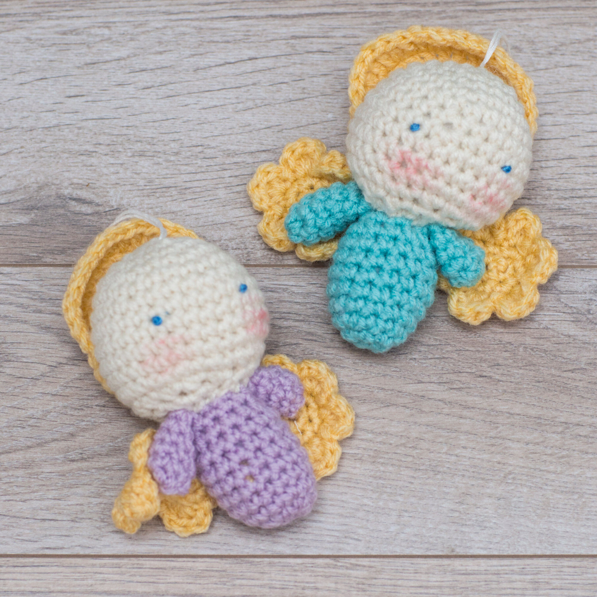 10 Free Crochet Angel Amigurumi Patterns - 99 Crochet | 2000x2000