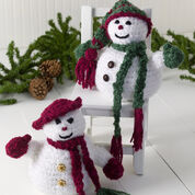 Red Heart Mr. & Mrs. Frosty