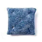 Bernat Tufted Knit Cushion