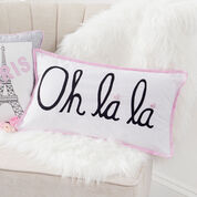 Go to Product: Coats & Clark Oh La La Pillow in color