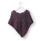 Sugar Bush Snug as a Hug Crochet Poncho, Child 4/6 yrs