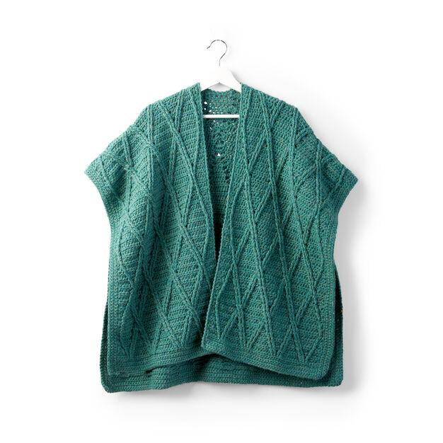 Sugar Bush Criss Cross Crochet Ruana