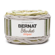 Go to Product: Bernat Blanket Stripes Yarn (300g/10.5 oz) - Clearance Shades* in color Olive Branch